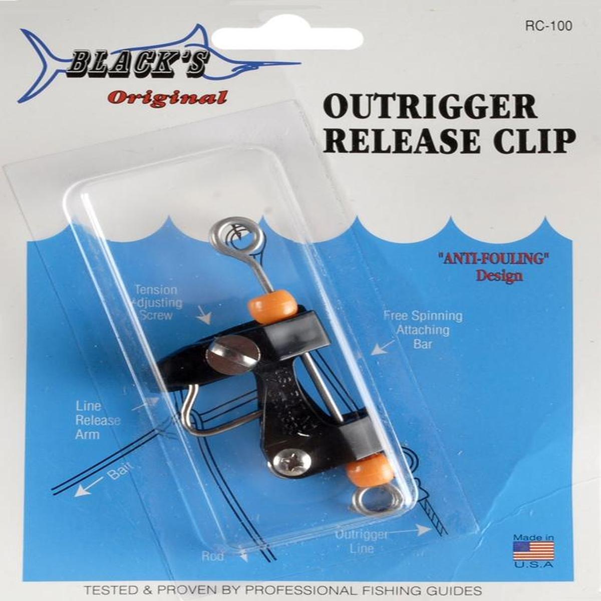 Blacks Outrigger Release Clip