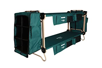 Disc O Bed Cam Bunk Cot With 2 Organizers