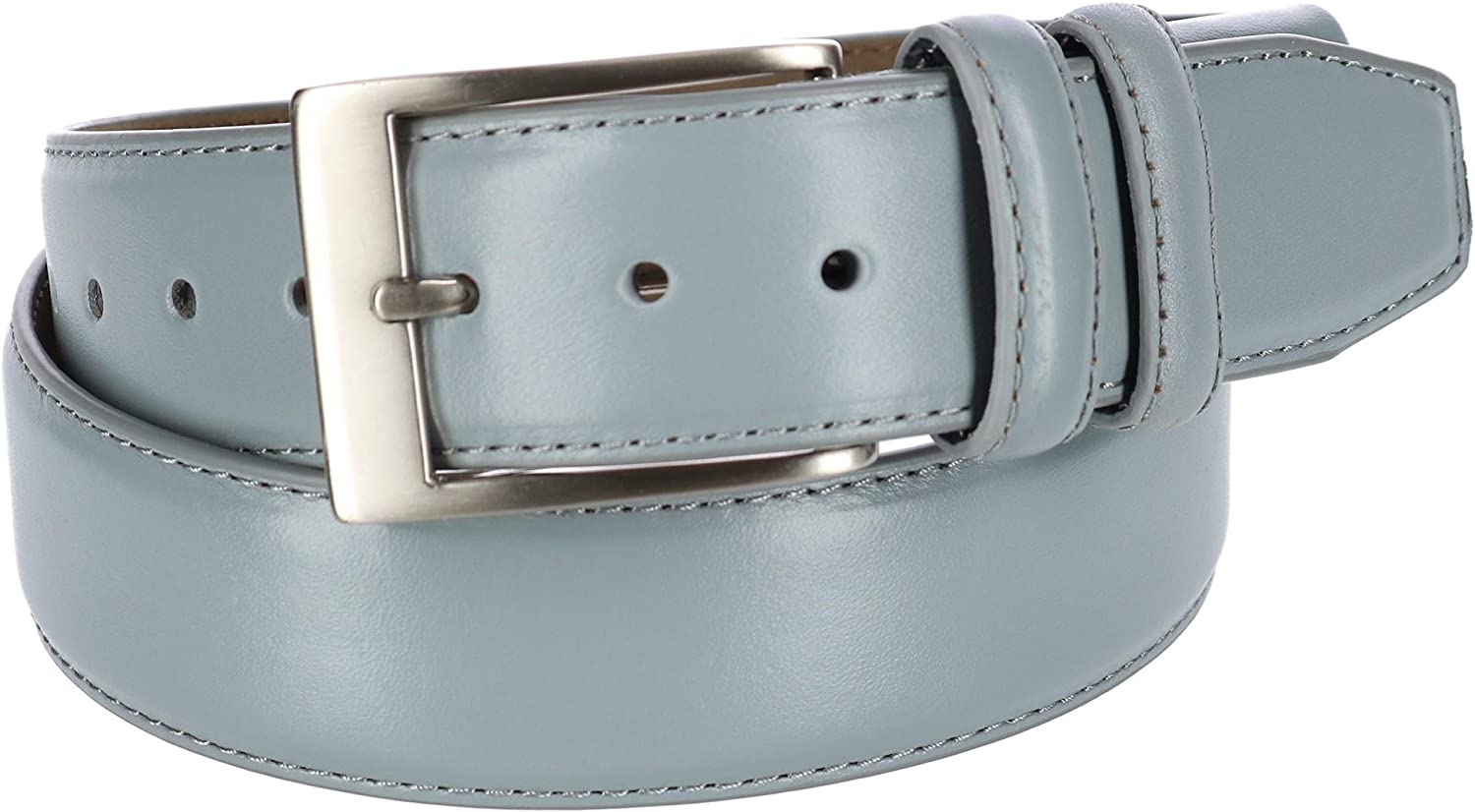 PGA Tour Stretch Fit Smooth Leather Belt Gray