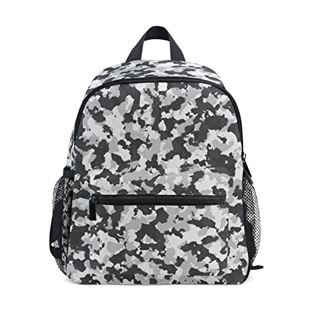 Amazon.com   MUOOUM Black And White Camouflage Kids Backpack Pre-School Toddler Bag Travel Daypack   Kids Backpacks