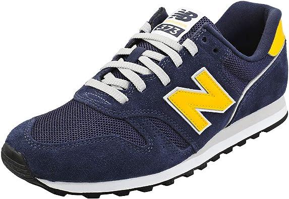New Balance 373 Mens Navy/Yellow