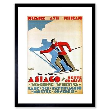 Sport Vintage Photography Ice Hockey Check Howe Hannigan 12X16 Inch Framed Print