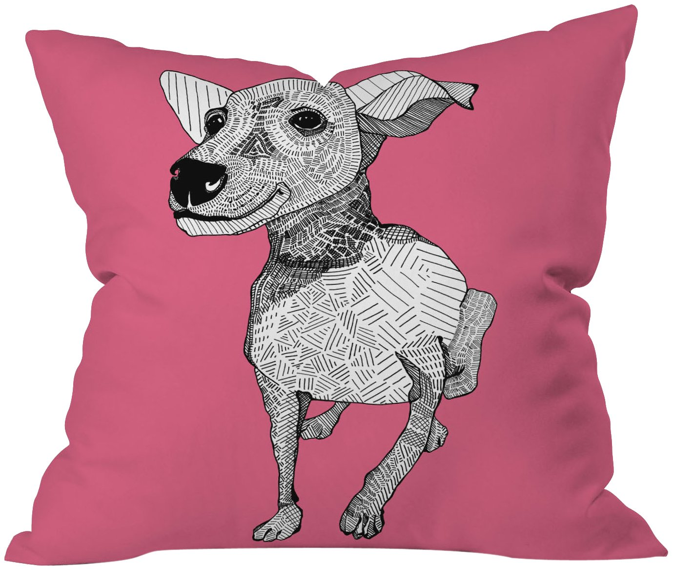 20 x 20 Deny Designs Casey Rogers Whipper Throw Pillow