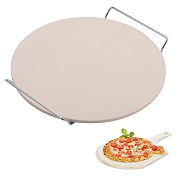 Westmark Pizza Piedra/Pan ladrillo/Pala para Pizza, cerámica ...