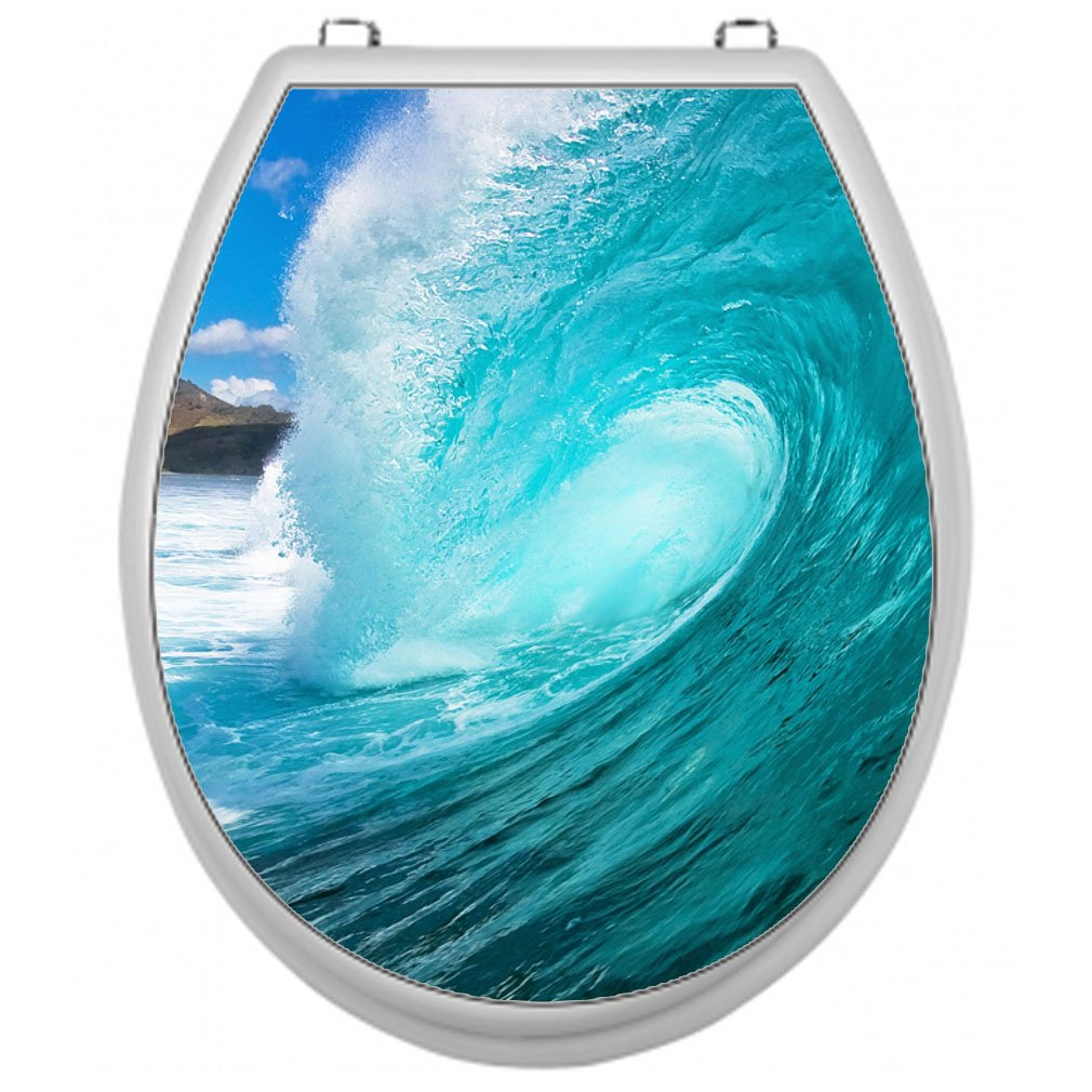 Sticker for Toilet Seat Toilet Lid Cover Decal Sticker Toilet Seat Sticker Bathroom Bedroom Shirt-2-Go TSAU010