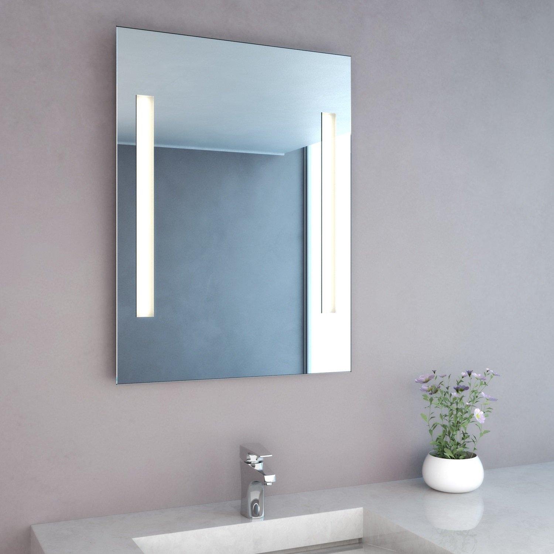 NEG Badspiegel MITRA 80x60cm HxB Spiegel eckig mit integrierter