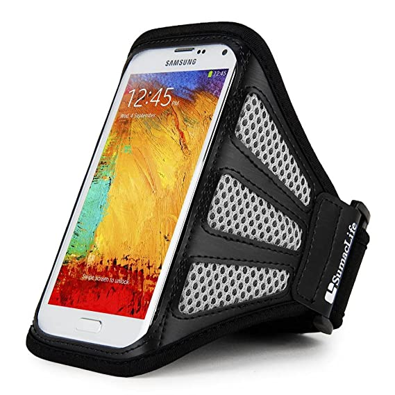 Grey Sports Armband Phone Case Cover Gym Running FOR Huawei P30 Pro