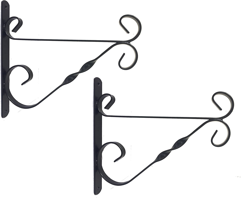 """Hanger Wall Hook 35cm Gardman Heavy Duty Hanging Basket Bracket 14/"""""""