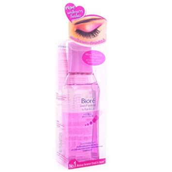 Image Unavailable. Image not available for. Color: Biore Japan Makeup Remover for Eye & Lip ...