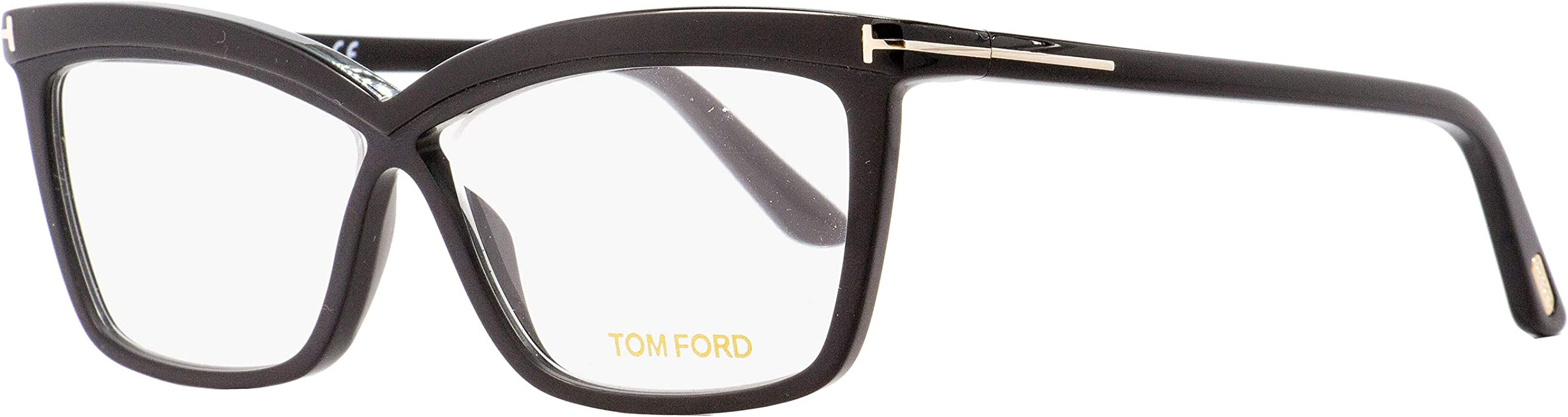 227d7256b748a Amazon.com  Tom Ford Butterfly Eyeglasses TF5470 001 Black 55mm ...