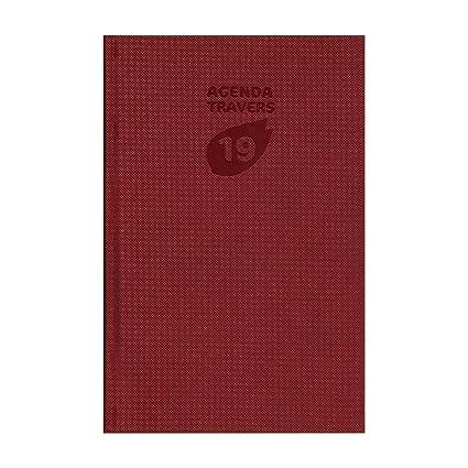 Exacompta - Agenda Oficina (2019 - través Luxe - 13,5 x 21 ...