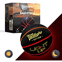 LED Light Up Basketball with 2 Bright Inner Lights Glow in The Dark Night Play with International Standard Size…