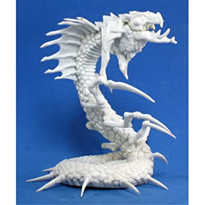 Frost Wyrm (1) Miniature by Reaper: Toys & Games