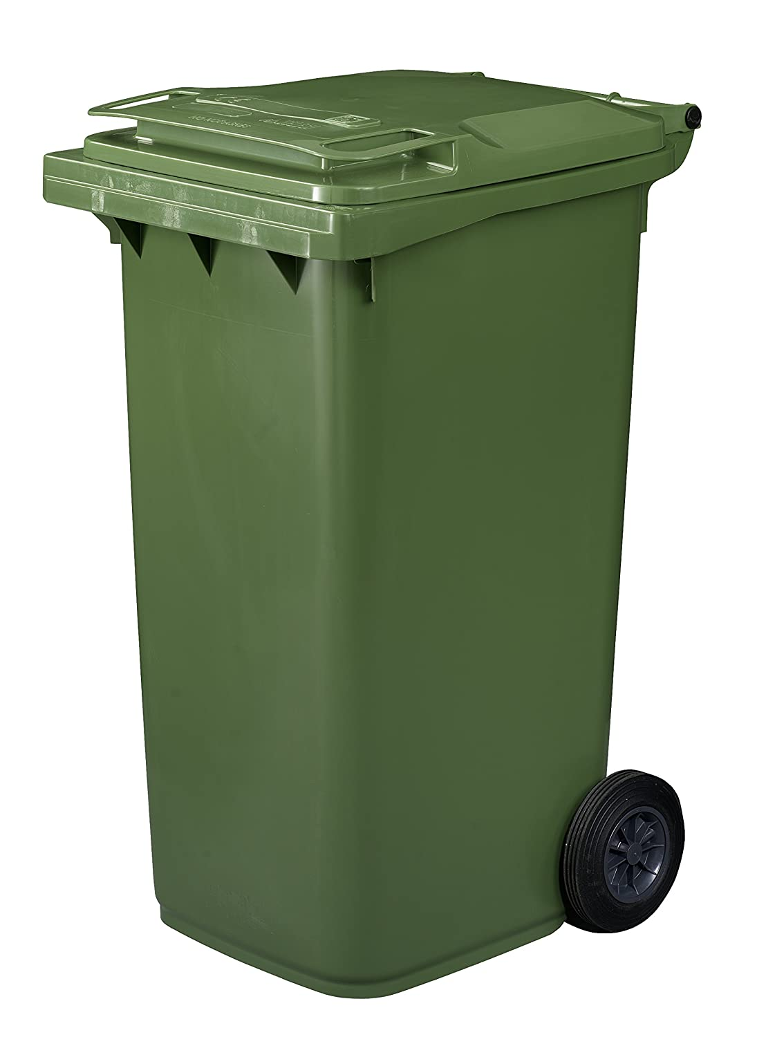 The neighbor put away the wheely bin outside basically the same thing as thunder - Garden waste containers ...