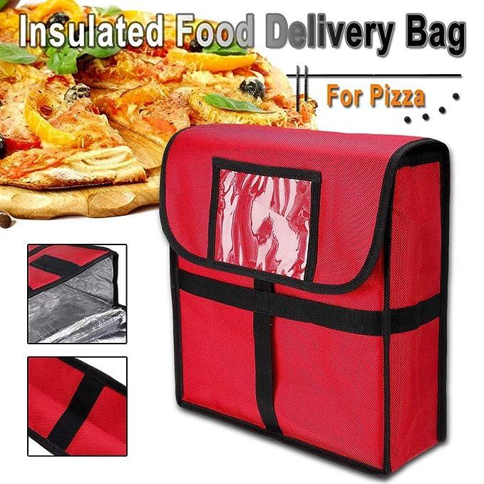 Outtybrave - 1 bolsa térmica para pizza de 11 pulgadas con ...