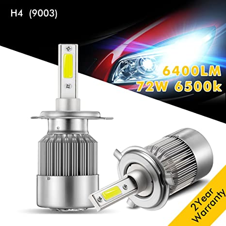 Amazon.com: Bombillas LED para faros delanteros, wediamond ...