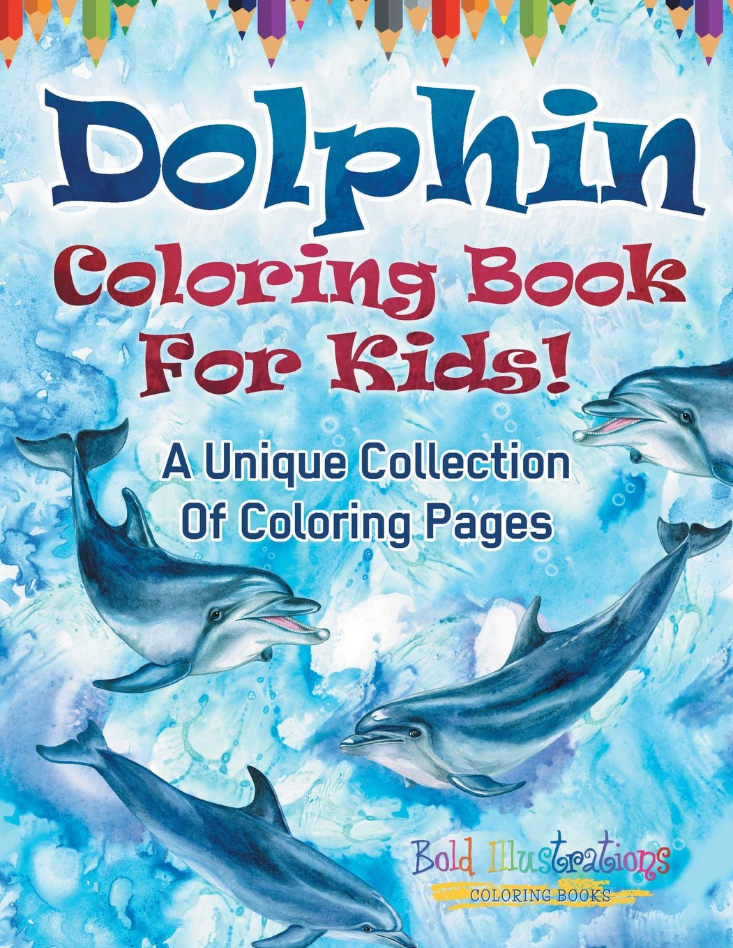 Amazing Series for Kids: Discover Dolphin Picture Book