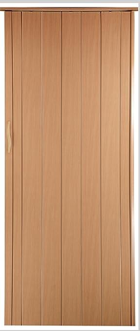 Tür buche  Falttür Schiebetür Tür buche farben Höhe 202 cm Einbaubreite bis ...