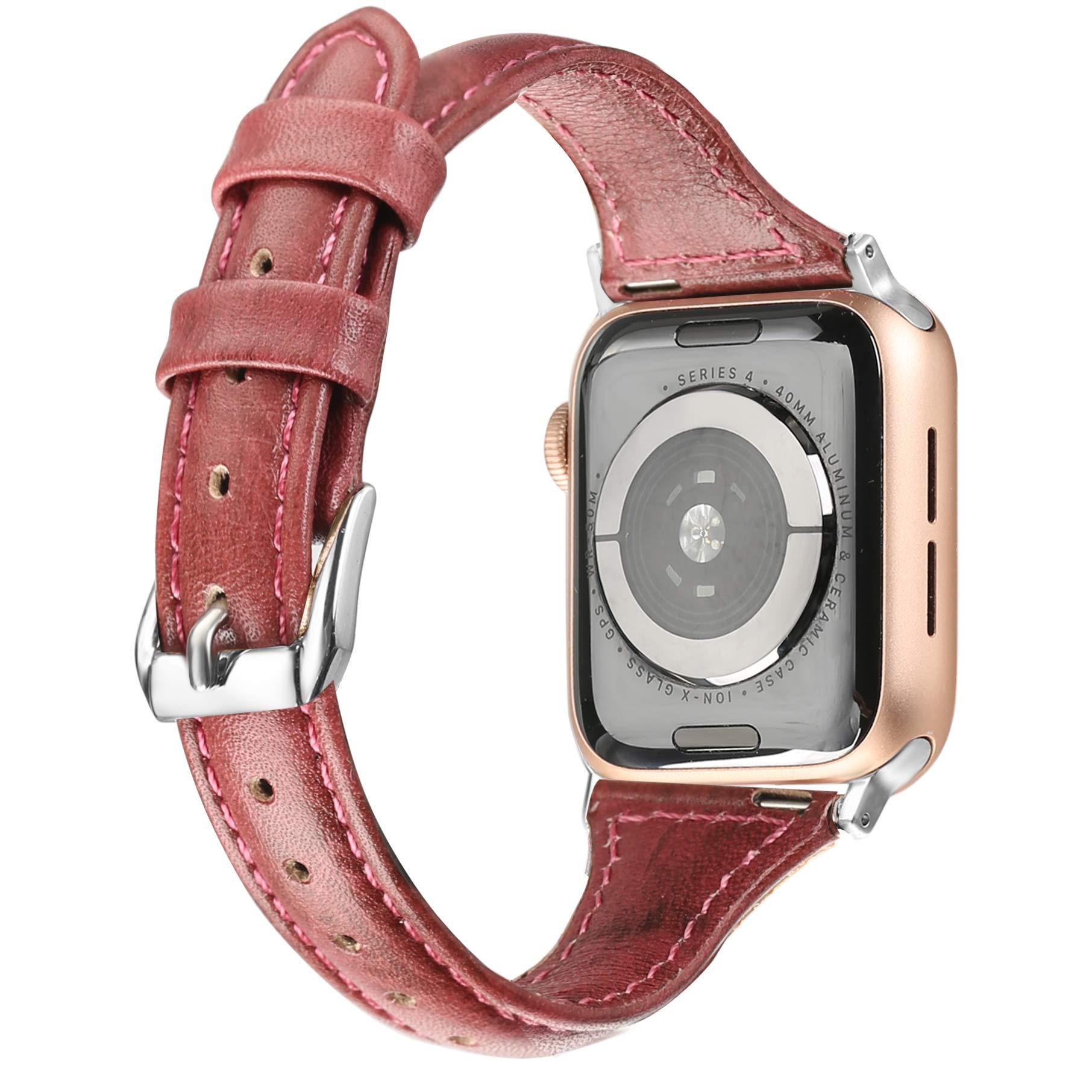 Malla Cuero para Apple Watch (38/40mm) SECBOLT [7RYRZ1P1]