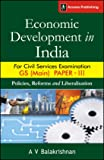 Economic Development in India for GS Paper 3 Civil Services Examination (Main)