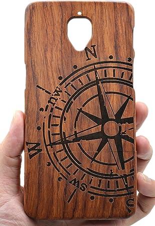 PhantomSky OnePlus 3/3T Funda de Madera, [Serie de Lujo] Natural Hecha a Mano de Bambú/Madera Carcasa Case Cover para tu Smartphone: Amazon.es: Electrónica