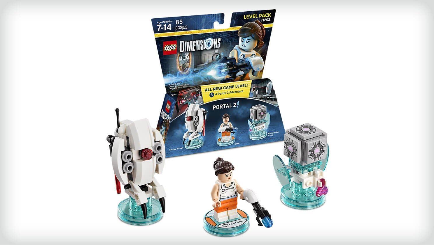 Warner Bros Interactive Spain Lego Dimensions - Portal 2, Chell: Amazon.es: Videojuegos