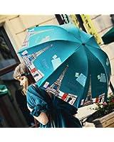 日傘 折りたたみ レディース PUQU 折りたたみ日傘 晴雨兼用 軽量 レディース 女性用 かわいい UPF50+ UVカット率99% 完全遮光 遮熱加工