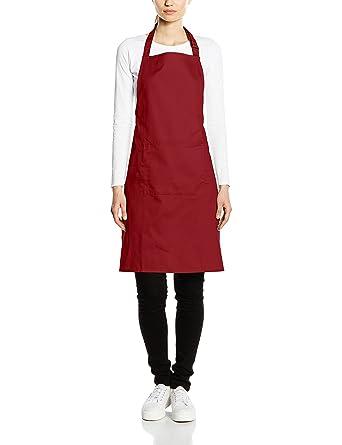 519d51039 Premier Workwear Colours Bib Apron With Pocket: Amazon.co.uk: Clothing