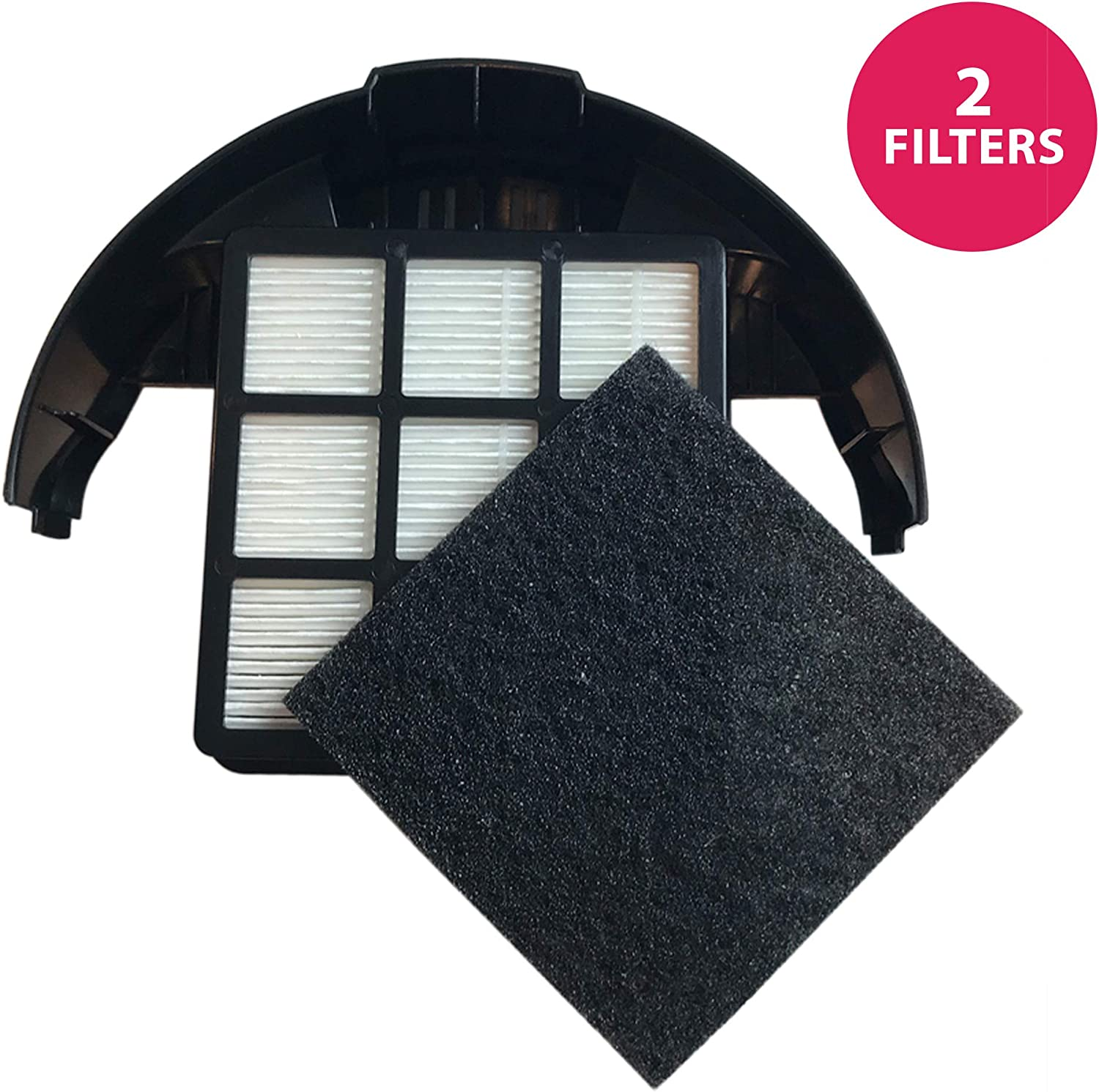 Think Crucial Replacement for Hoover T-Series HEPA Style & Carbon Filter Fits T-Series Rewind, Compatible with Part # 303172001, 303172002 & 902404001