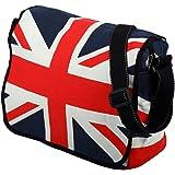Sac à bandoulière - motif drapeau du Royaume-Uni - coton