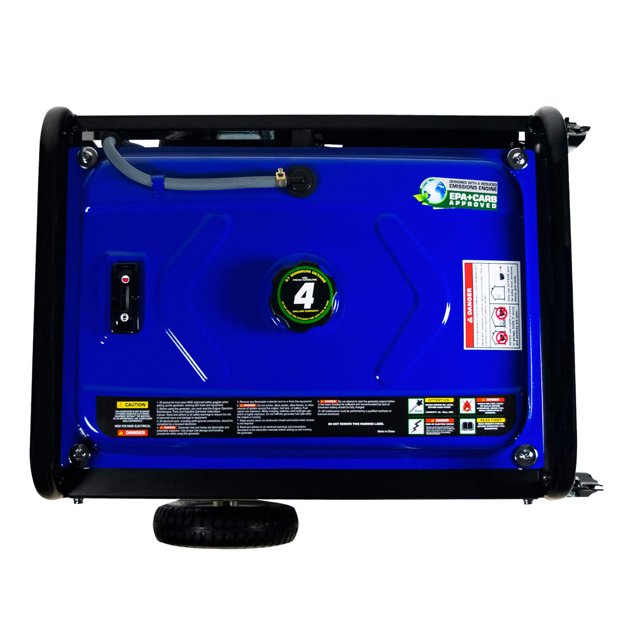 DuroMax Hybrid Dual Fuel XP4400EH 4,400-Watt Portable Generator by DuroMax (Image #11)