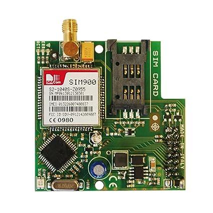 Módulo GPRS para central X K Alarma AMC electrónica x-gsm ...