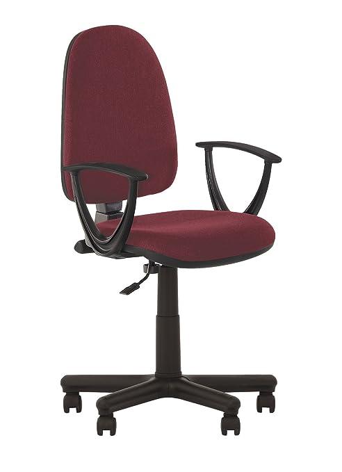 Prestige II- Silla de oficina ergonómica con respaldo inclinable.Asiento ajustable, respaldo regulable