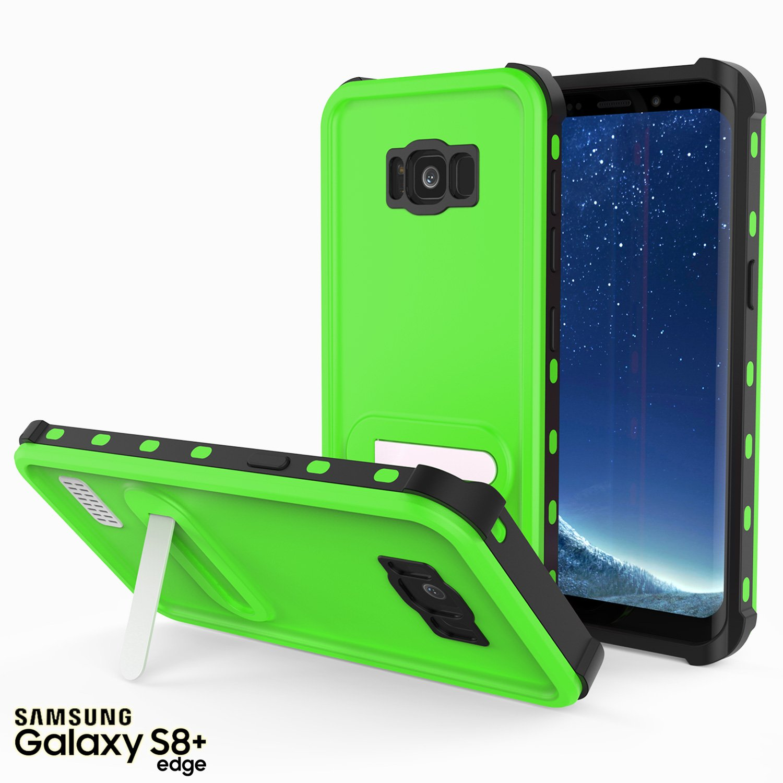 los angeles 73202 19504 Galaxy S8 Plus Waterproof Case, Punkcase [Kickstud Series] [Slim Fit] [IP68  Certified] [Shockproof] [Dirtproof] [Snowproof] Armor Cover for Samsung ...