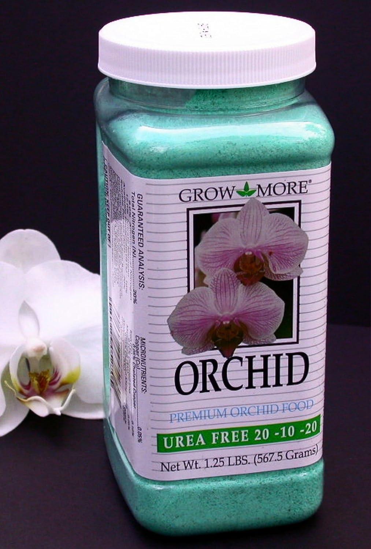 GROW MORE UREA FREE Orchid Fertilizer 20-10-20 ~ 1.25 lb. Jar ;(supply#: tindara1; TRYK19182143479262