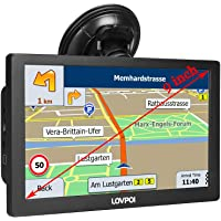 GPS Navigation for Truck Drivers and Car (9 inch), GPS for Truck Drivers Commercial, RV Trucker GPS Navigation System…