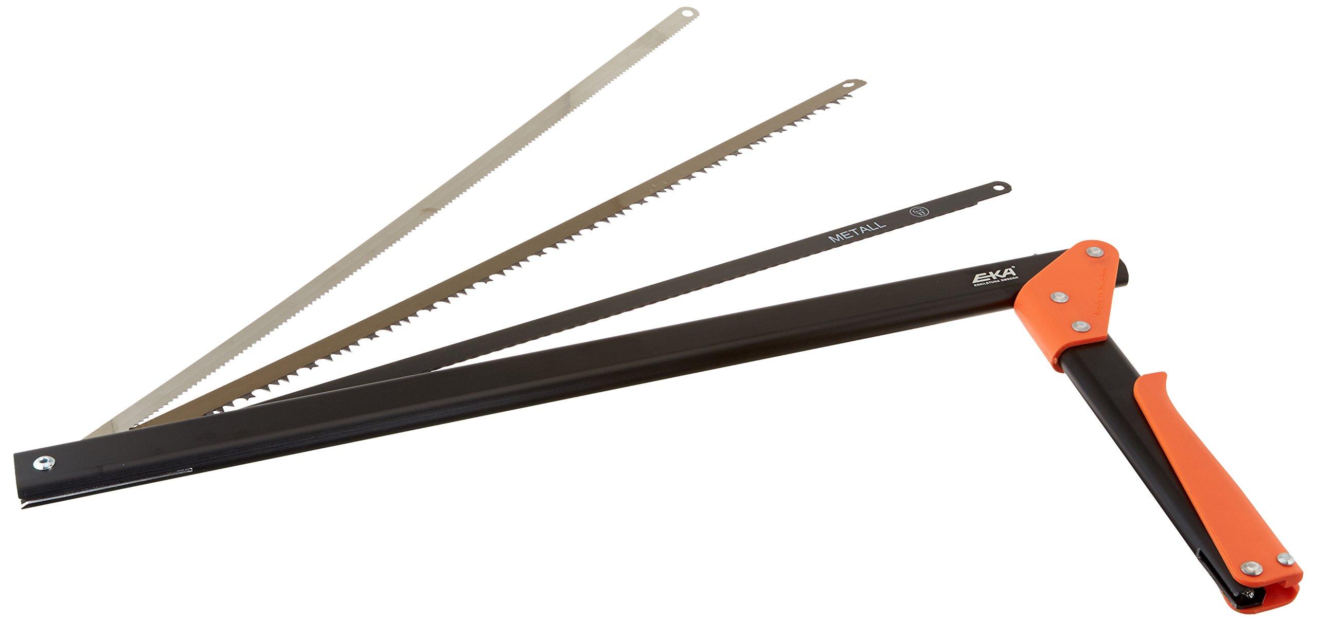 EKA Viking Combi Compact Saw, 21-Inch, Black with Orange Handle by EKA (Image #2)