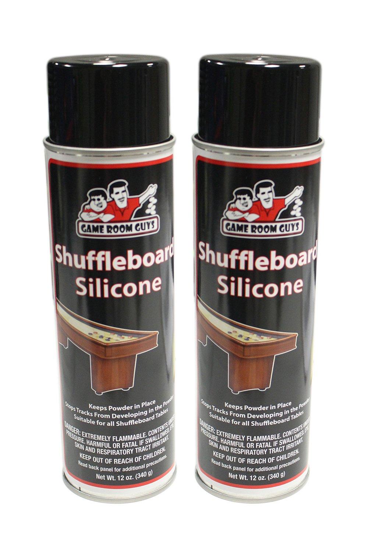 Game Room Guys Pkg of 2 Silicone Shuffleboard Spray