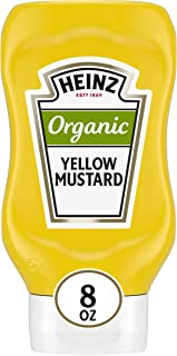 product image for Heinz Organic Yellow Mustard (8 oz Bottle)