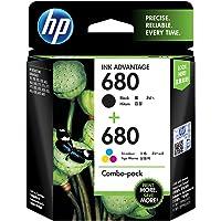 HP 680 2-Pack Black/tri-Color Original Ink cartridges