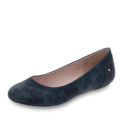 d7f449241000b5 ESPRIT 038EK1W001-400 Aloa Damen Ballerina Textilfutter mit Flexibler  Laufsohle