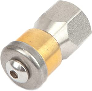 Pressure Washer Accessories, Sewer Nozzle, Rotating, 1/4-Inch Female NPT-by-5.5mm, 4,000 PSI, Replaces Forney 75142