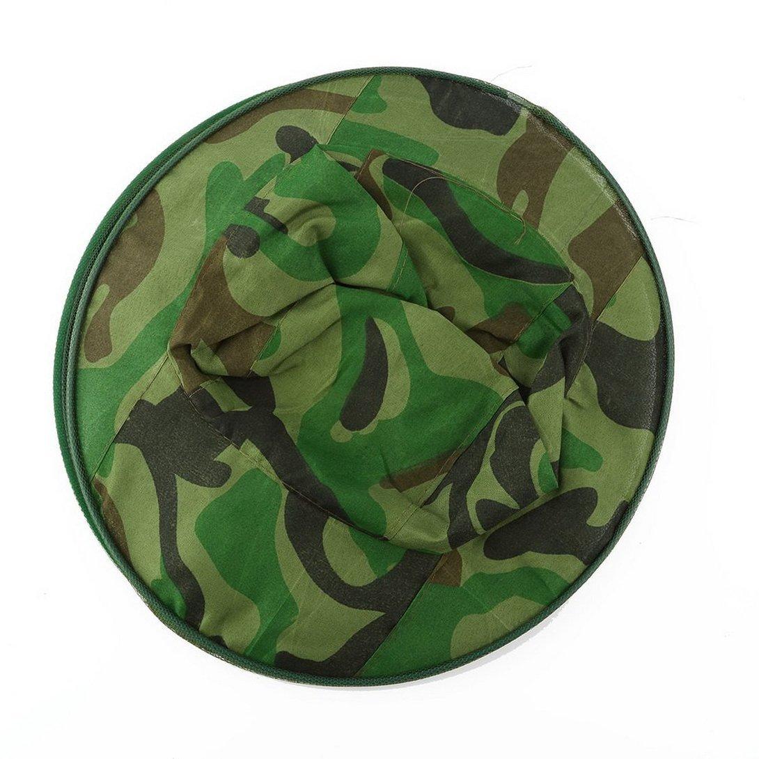Swiftswan Mimetico Apicoltura Apicoltore Anti-zanzara Ape Bug Insetto Fly Mask Cap Hat con testa Net mesh Protezione del viso Attrezzature per la pesca allaperto