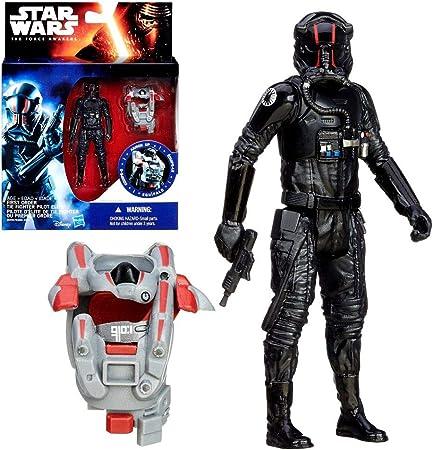 Star Wars Selección de Figuras de Juego | 3.75 | Figuras de Acción | Hasbro Figuren:Tie Fighter Pilot Elite: Amazon.es: Juguetes y juegos