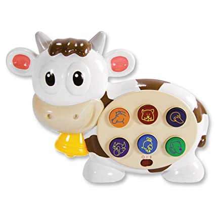 The Learning Journey Early Barnyard Bessie Cow