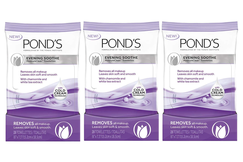 Amazon.com: Ponds Moisture Clean Towelettes, Luminous Clean ...