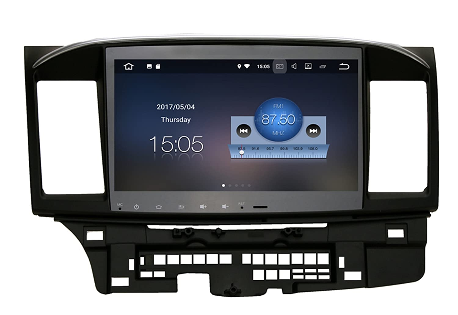 RoverOne Android 7.1車のGPSプレーヤーのNavi for Mitsubishi Lancer 10 Galant 2G + 16GクワッドコアステレオラジオマルチメディアHDMI (With 07-13 Canbus) B078SPB12C With 07-13 Canbus  With 0713 Canbus