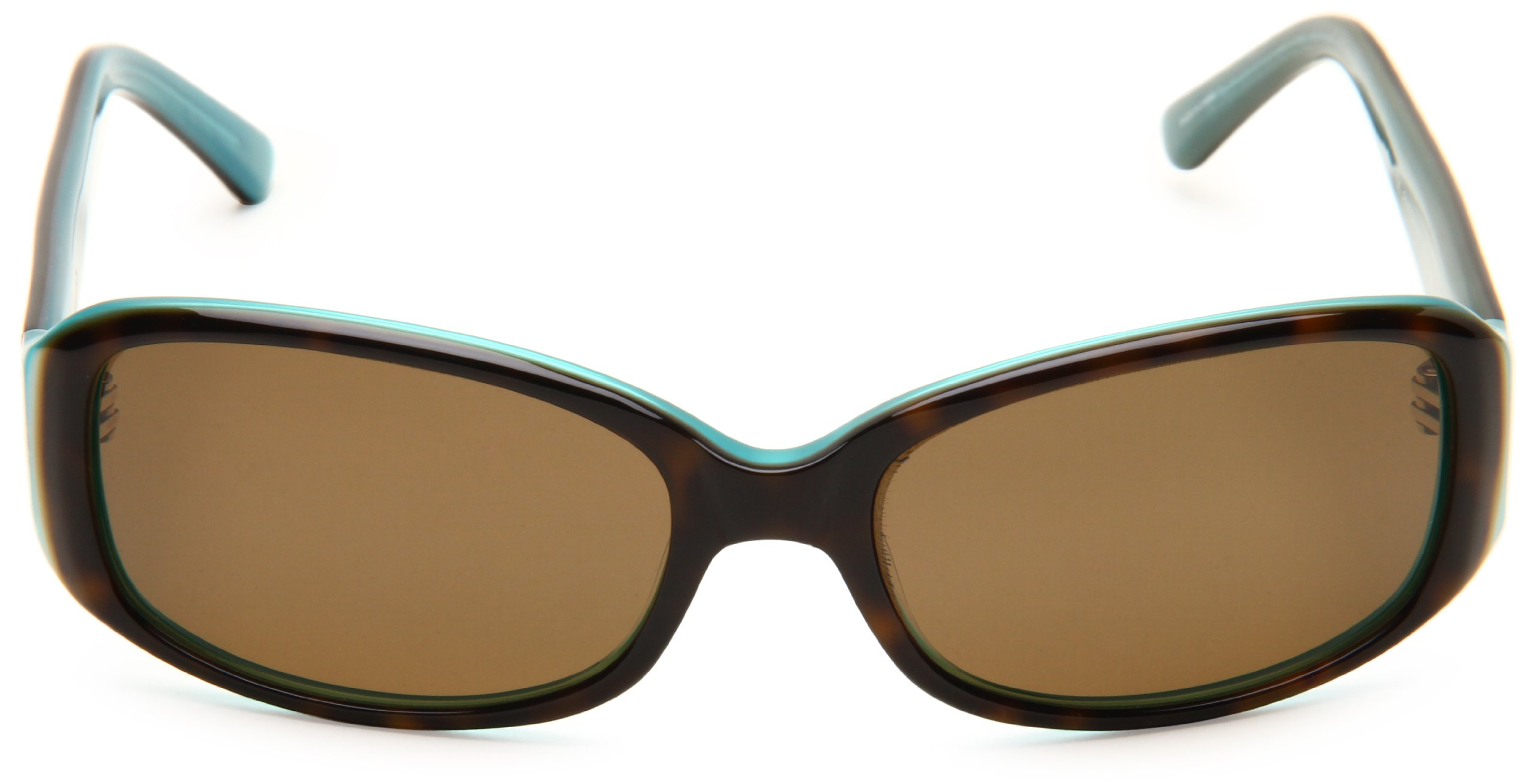 Kate Spade Women's Paxton/S Rectangular Sunglasses,Aqua Tortoise Frame/Brown Polarized Lens,one size by Kate Spade New York (Image #2)