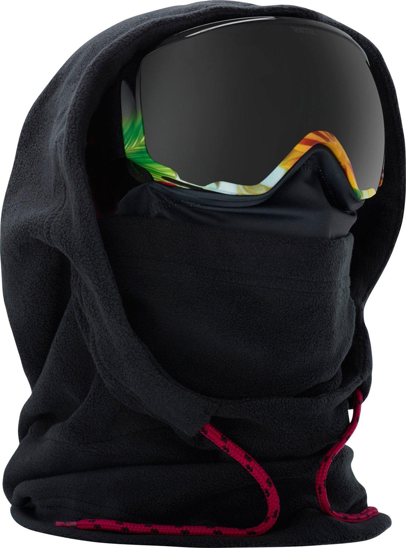 Anon Women's MFI Fleece Helmet Hood Clava, Black W19