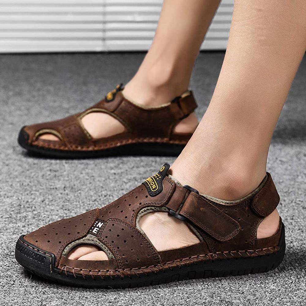 Men Fisherman Sandals Hollow Out Closed